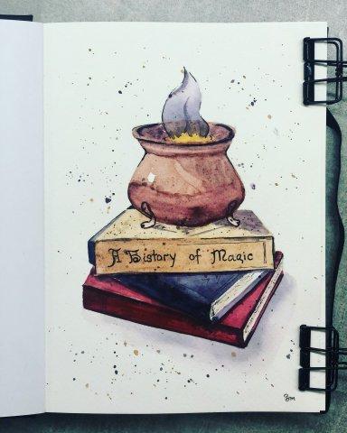 Марафон «Мир Гарри Поттера» урок 2 «Зельеваренье»