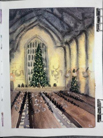 Марафон «Мир Гарри Поттера» бонусный урок «Рождество в Хогвартс»