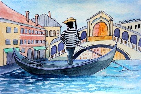 Venice by Dina