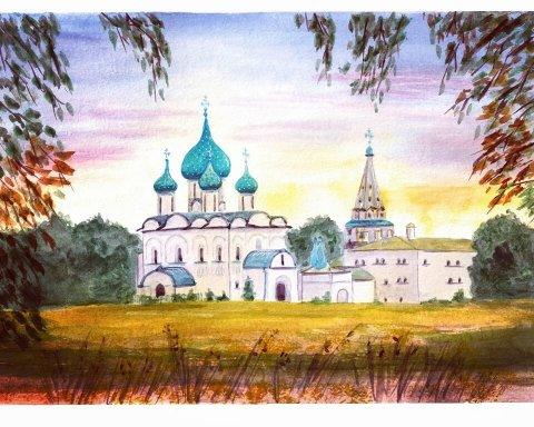 Кремль Рязань с Татьяной Тожокиной
