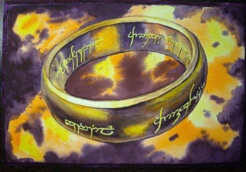 Добрый день! Мне захотелось прорисовать немного поярче и почетче  кольцо. Как получился рисунок мне нравится. Спасибо огромное за урок, тема марафона просто огонь!