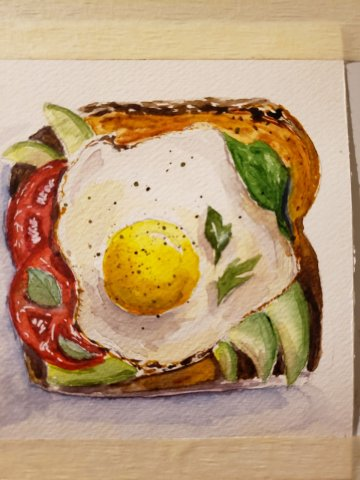 FOOD иллюстрации - ланч