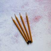 Простой карандаш 2В, 4В